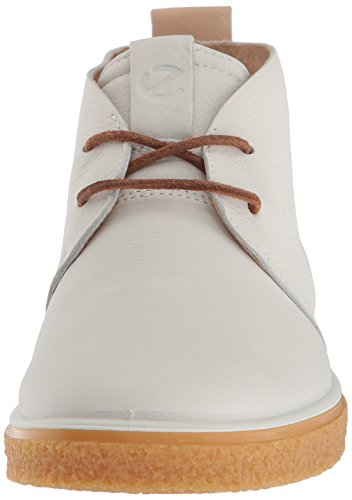 Women's Powder Ankle Bootie CrepeTray ECCO Boot White 0qd6ww