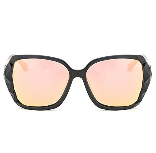 UV High Purple Pink para Coreana Versión PC Elegante Polarizadas End De Light QQBL Sol Gafas 99 UV400 De Lady Visible Perspective Anti Resina 8IWwS