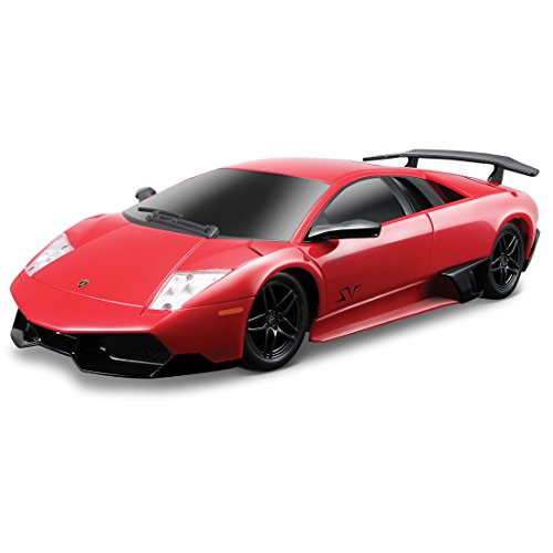 Maisto R/C 1:24 Scale Lamborghini Murciélago LP 670-4 SV Radio Control Vehicle (Colors May Vary)