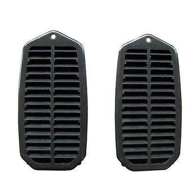 (CPP Left, Right Door Jamb Vent Louvers for Buick Skylark, Chevy Camaro, Chevelle GMK402161270P )