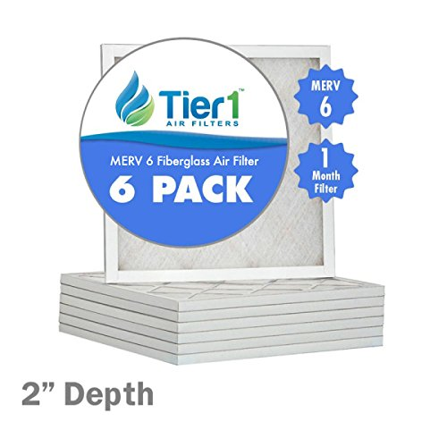 16x30x2 Basic MERV 6 Air Filter / Furnace Filter Replacement