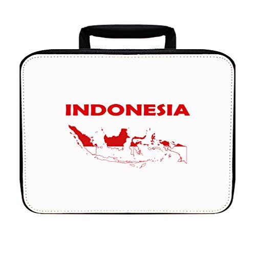Indonesia Original Country Name Insulated Lunch Box Bag by Style in Print