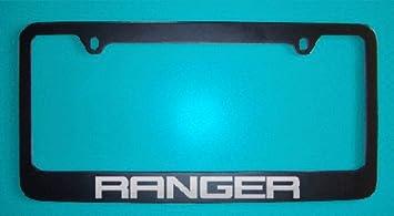 Ford Ranger License Plate Frame