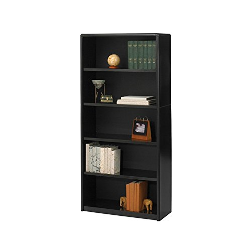 (Safco Home Office 5-Shelf ValueMate Economy Bookcase - Black)