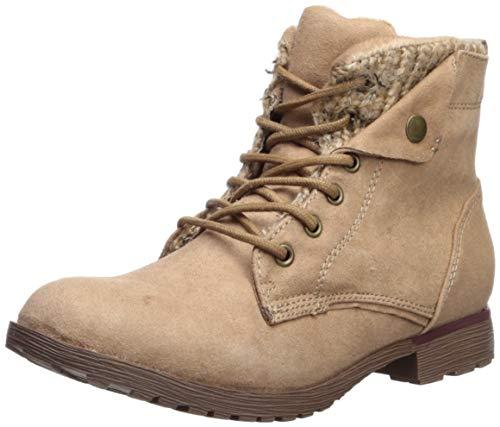 Rock & Candy Women's Tavin Chelsea Boot, Taupe/tan/Beige, 6 Medium US (Beige Combat Boots Women)