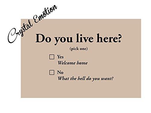 Live Here Door Mat - 6