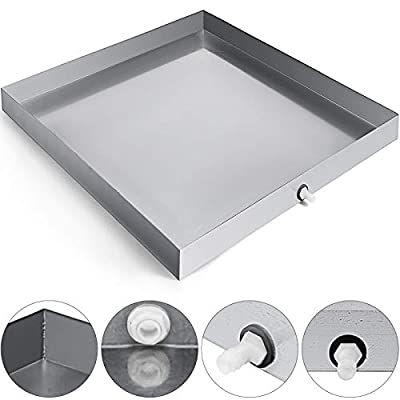 VEVOR Washer Drip Tray with Drain Fitting