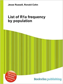 List of R1a frequency by population: Amazon co uk: Ronald Cohn Jesse