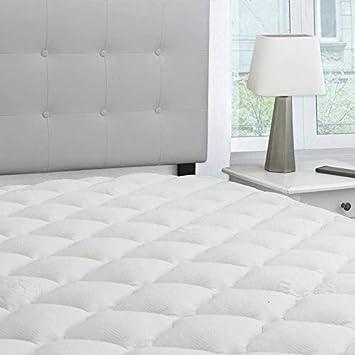 extra thick mattress pad Amazon.com: eLuxurySupply Bamboo Extra Thick Mattress Pad with  extra thick mattress pad