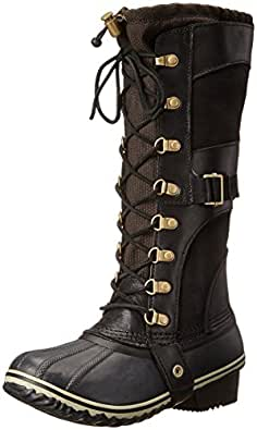 Sorel Women's Conquest Carly Boots, Black, 5 B(M) US