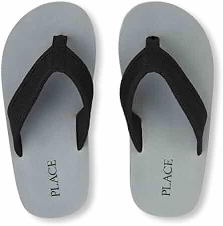 The Children's Place Kids' E BB Mesh Baja Flat Sandal