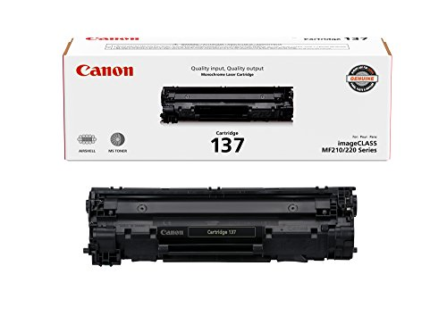 Canon Original 137 Toner Cartridge - Black ()