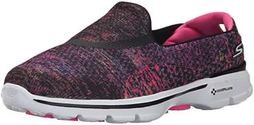 Skechers Performance Womens Go Walk 3 Glisten Walking Shoe