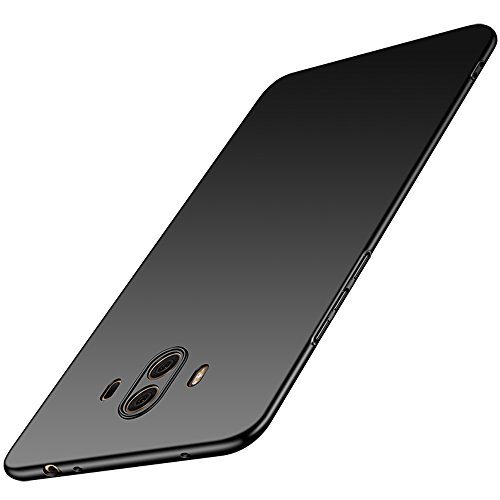 Anccer Huawei Mate 10 Case [Colorful Series] [Ultra-Thin] [Anti-Drop] Premium Material Slim Full Protection Cover for Huawei Mate 10 (Smooth Black)