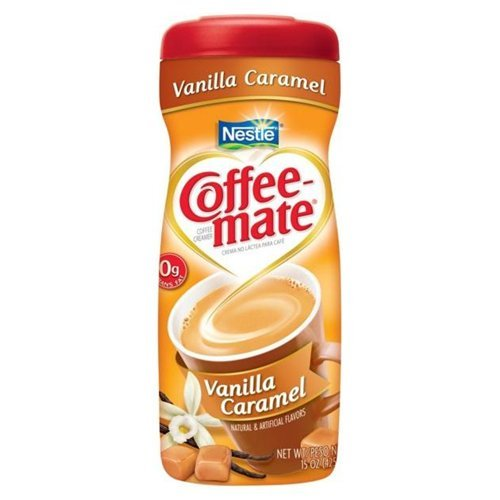 Coffee-mate Coffee Creamer Vanilla Caramel 15 OZ (Pack of 18) by Coffee-mate