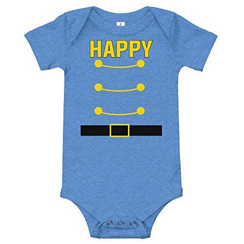 (Happy Dwarf Halloween Costume Baby Bodysuit Baby Onesies Family Matching)