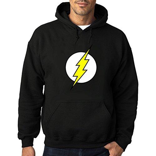 Men's The Flashã€' Heavy Blend Adult Hoodie Sweatshirts S Black cool