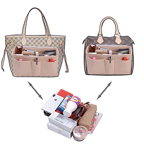 Felt(3MM) Fabric Purse Organizer Insert for Purse Handbag Tote Bag, 3 Sizes, 8 Colors by ETTP (Image #3)