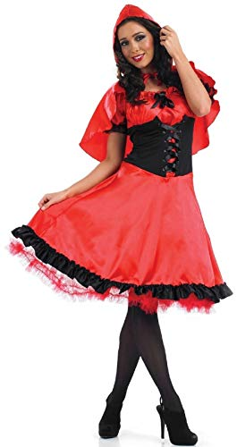 Red Riding Hood Dorothy Costumes - Ladies Longer Length Bo Peep Red