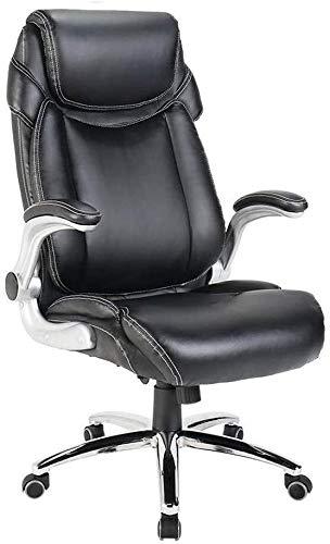 WYKDL Ejecutivo giratoria ajustable silla giratoria de oficina con brazos soporte lumbar Escritorio Silla ergonomica de alta Volver giratoria Ejecutivo Oficina de escritorio de la computadora Silla gi