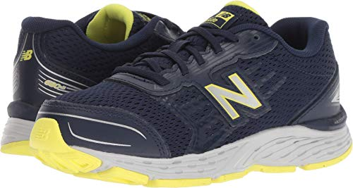 New Balance Boys' 680v5 Running Shoe Pigment 12.5 W US Little - Shoes New Balance Boys Wide