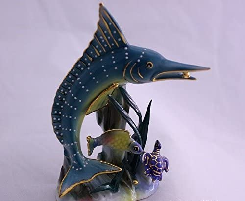 Feng Shui Elegant Horse 2 Hand Crafted and Decorated Fine Chinese Porcelain Figurine 2134016