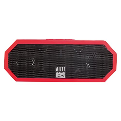 Altec Lansing IMW448 Jacket H2O 3 Floating Bluetooth Waterproof Speaker (Red)
