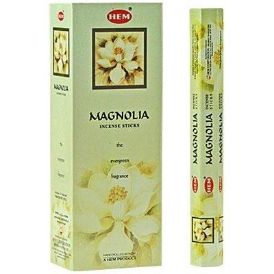 Magnolia - Box of Six 20 Stick Tubes - HEM Incense