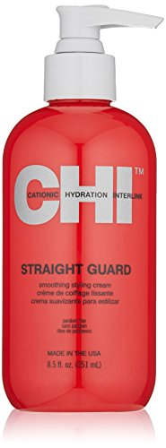 CHI Straight Guard Smoothing Styling Cream, 8.5 Fl Oz
