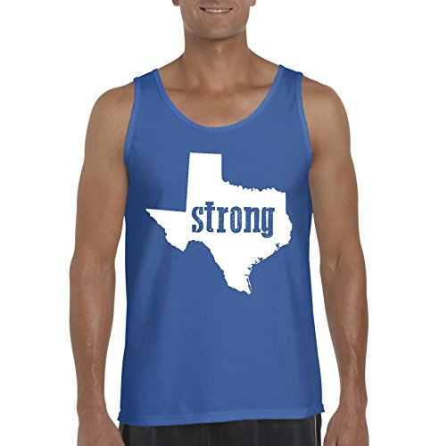 NIB Texas Tank Top Strong Texas Home Of Texas State University and Bobcats Longhorns Men's Tank Top (University Of Texas Halloween Party)
