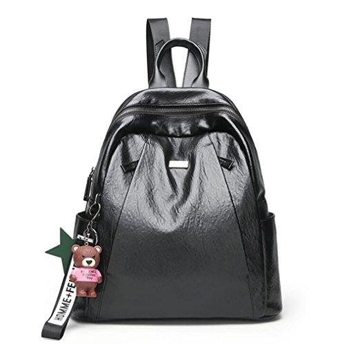 en femmes multifonctionnel souple décontracté 32 à à PU main sac la de Sac mode 15 cuir des dos 34cm sac nqgPIv8wxB