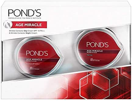 Pond's Age Miracle Wrinkle Corrector Combo 50 gm each (Set of 2)