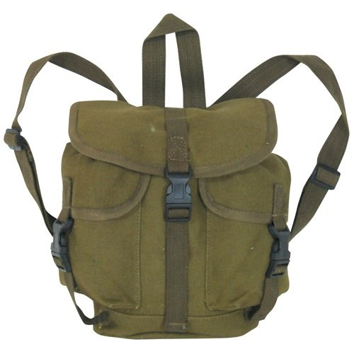 Ultimate Arms Gear OD Olive Drab Green German Style Alpine Rucksack (10 1/2