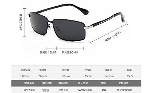 rond style lunettes métallique retro Frêne cercle soleil du de Lennon Noir polarisées en inspirées vintage q7pq1w