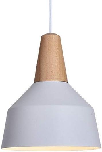 Lámpara Pared Luz de pared / Iluminación La iluminación 60W Edison Luces industrial moderna que cuelga la cortina de lámpara colgante Lámparas de luz Serie E26 / E27 de madera maciza barniz