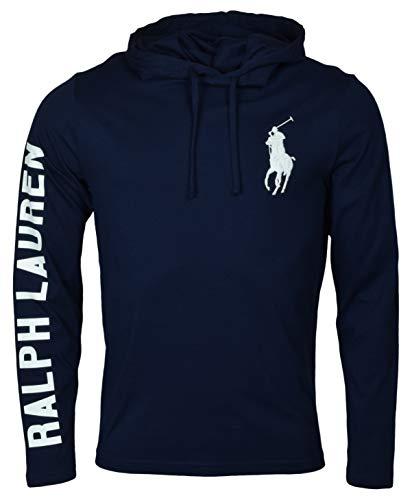 Polo Ralph Lauren Mens Long Sleeve Graphic Jersey Hoodie
