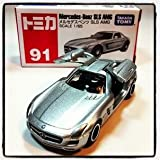 Takara Tomy 91 Mercedes-benz SLS AMG Toy Model, Scale 1:65