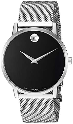 Movado Men's Core-Museum Classic 0607219 Stainless Steel One Size Deal (Large Image)