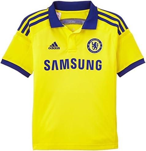 adidas Trikot Chelsea FC Replica Spieler-Auswärts - Camiseta de fútbol, Color Amarillo, Talla 128 cm: Amazon.es: Ropa y accesorios