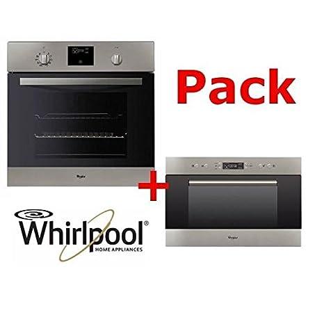 Pack de horno wirlpool: horno + microondas: Amazon.es: Grandes ...