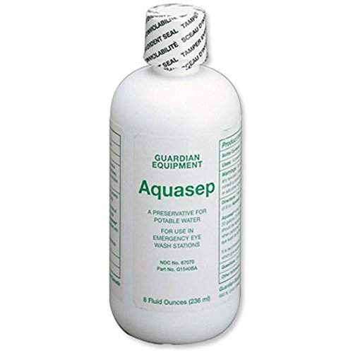 Guardian G1540BA AquaGuard Bacteriostatic Additive (8 oz.)(24 Units) by Guardian (Image #1)