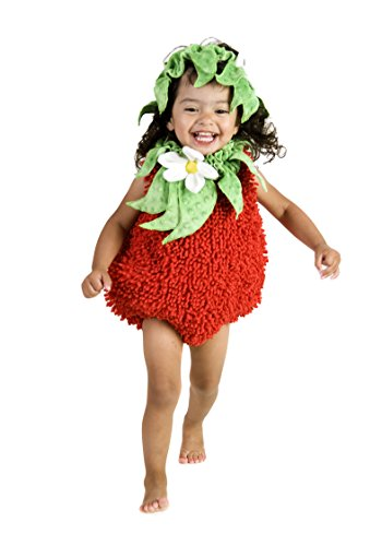 Princess Paradise Baby's Suzie Strawberry, Red, 6 to 12 Months