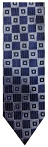 Donald Trump Neck Tie XL Extra Long Navy Blue and Silver