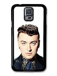 Sam Smith White Background Portrait case for Samsung Galaxy S5