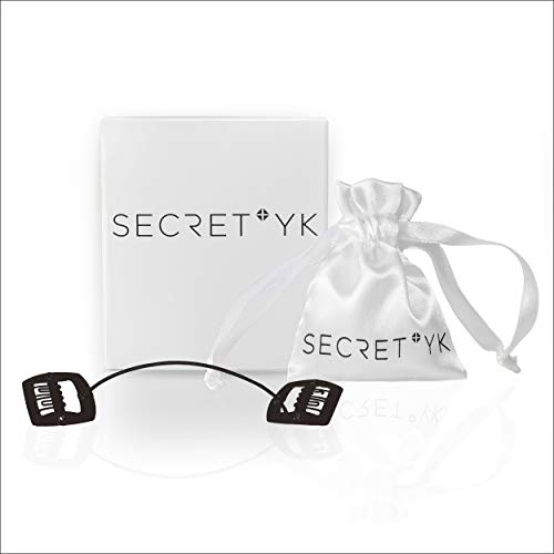 SECRET YK QUICK FIX HAIR CLIPS: 45-Second Facelift, Non-Surgical Hidden Beauty Accessory Secret, No More Wrinkles, For Black Hair Fast, Comfortable Hair Application