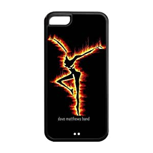 DMB Fire Dancer Snap-on TPU Rubber Coated Case Cover for iPhone 4s