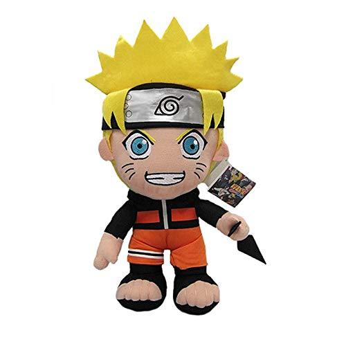 (BoldType Naruto - 30cm Anime Naruto Uzumaki Naruto Plush Doll Toy Uzumaki Naruto Cosplay Costume Plush Soft Stuffed Toys Gift for Kids Children 1)