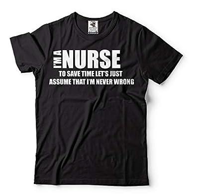 I Am Nurse T-Shirt Funny Profession Tee Shirt