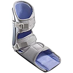Nice Stretch 90 Patented Plantar Fasciitis Night Splint with Cold Therapy and Non-Skid Sole, Small/Medium