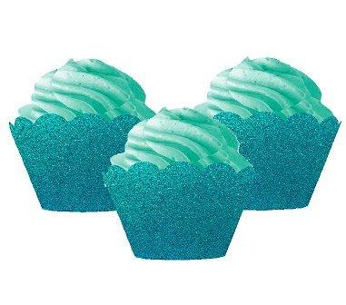CakeSupplyShop Bright & Vivid Glitter Sparkle Cupcake Decorating